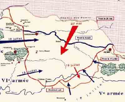 German Offensive - Chemin des Dames