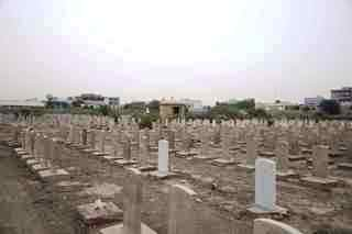 Graves at Baghdad North Gate Cemetery