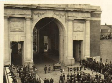 Dedication of the Menin Gate Memorial, Ypres