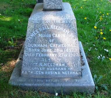The Needham family grave
