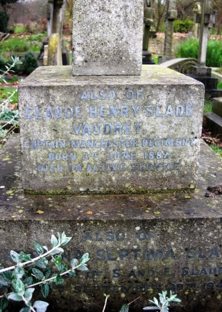 Memorial Inscription Perivale Churchyard