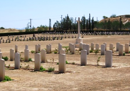 Waynes Keep Military Cemetery Nicosia